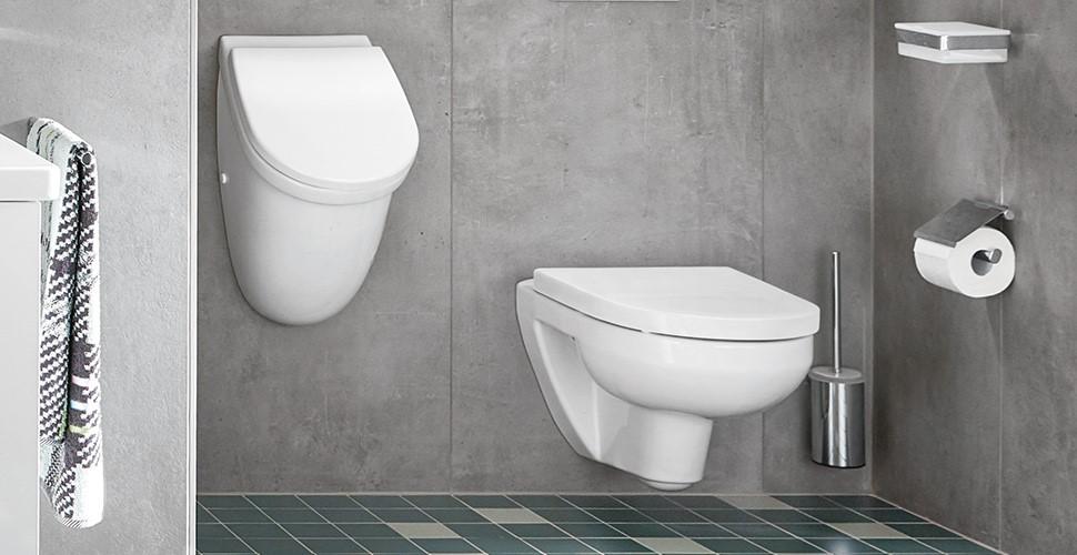 WCs, Urinale und Bidets